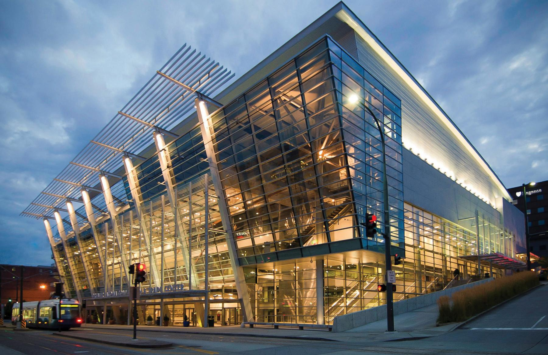 GTCC exterior, the place for Tacoma Convention Center Events